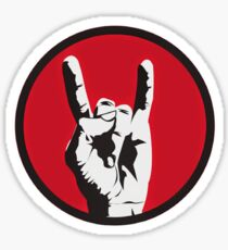 Rock On Sticker