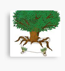 Tree Tub Canvas Print