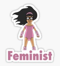 Feminist Tina Sticker