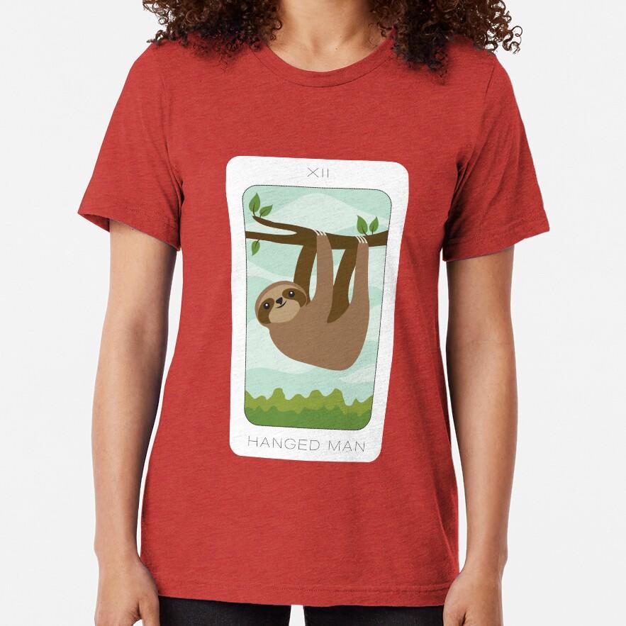 Hanged Man Tri-blend T-Shirt