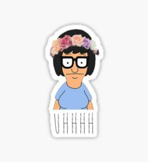 Flower crown tina Sticker