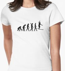 Evolution Slackline Women's Fitted T-Shirt