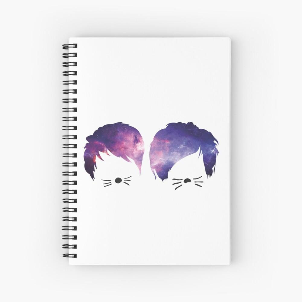 Dan und Phil Galaxy Spiralblock
