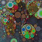 Circles on Gray by OLIVIA JOY STCLAIRE