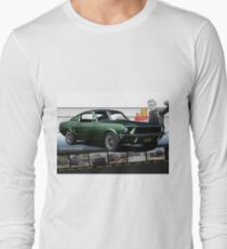 Steve McQueen Bullitt 1968 Ford Mustang Long Sleeve T-Shirt