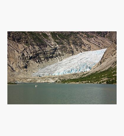 Nigardsbreen glacier Photographic Print
