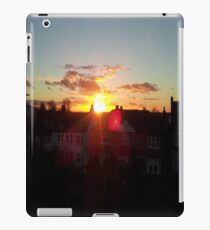 Suburb Sunset iPad Case/Skin