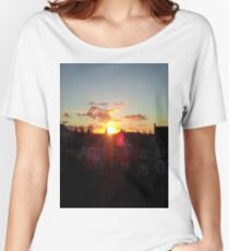 Suburb Sunset Women's Relaxed Fit T-Shirt
