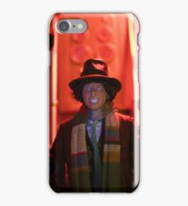 Doctor Who In Trouble! iPhone Case/Skin