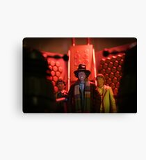 Doctor Who In Trouble! Canvas Print