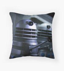 Dead Planet Daleks Throw Pillow