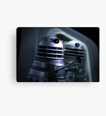 Dead Planet Daleks Canvas Print