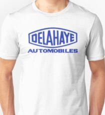 French classic car logo Delahaye automobiles T-Shirt
