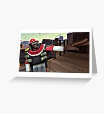 Team fortress 2 demoman Greeting Card