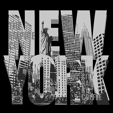New York - the empire city by CoolTees