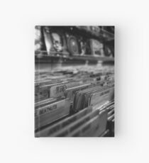 Record Store Hardcover Journal