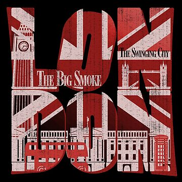 London- the big smoke by CoolTees