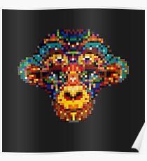 Pixel Primate Poster