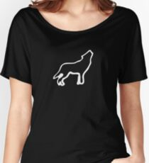 Skyhill (Wolf) Women's Relaxed Fit T-Shirt