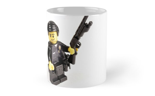 LAPD Patrol Officer - Custom LEGO Minifigure by Brick Police