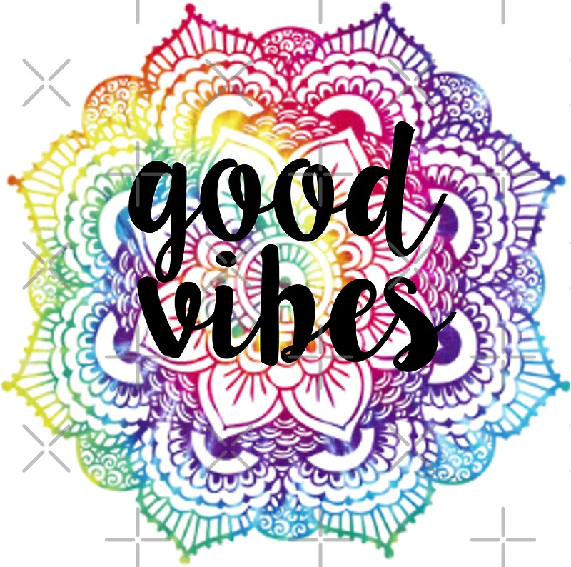 """Good Vibes - Mandala"" Stickers by amariei 