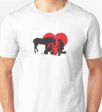 Veterinarian Animal Heart Unisex T-Shirt