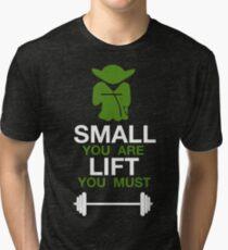 Yoda Workout Shirt Tri-blend T-Shirt