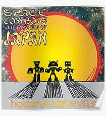 Space Cowboys Under The Sea Of Japan Poster