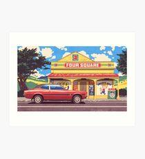 Shop, Bro Art Print