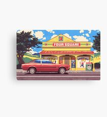 Shop, Bro Canvas Print