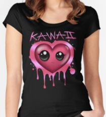 JUST KAWAII (Custom) Women's Fitted Scoop T-Shirt