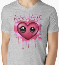 JUST KAWAII (Custom) Mens V-Neck T-Shirt