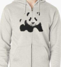 Panda Hoodie mit Reißverschluss