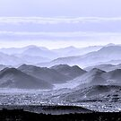 Sky Blue Hills Of The Tonto by Mike Herdering
