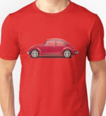 1970 Volkswagen Beetle - Royal Red T-Shirt