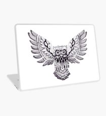 Pen & Ink Owl Laptop Skin