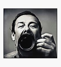portrait of a photographer as a young man Photographic Print