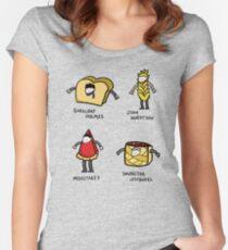 Bakery Street & Shortcake Yard Women's Fitted Scoop T-Shirt