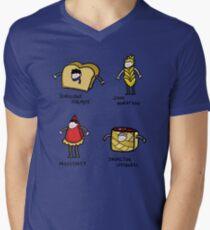 Bakery Street & Shortcake Yard Men's V-Neck T-Shirt