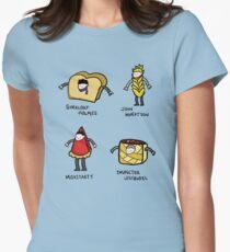 Bakery Street & Shortcake Yard Women's Fitted T-Shirt