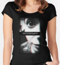 Trip to Wonderland Women's Fitted Scoop T-Shirt