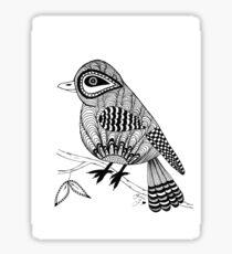 'Beaker' the bird Sticker