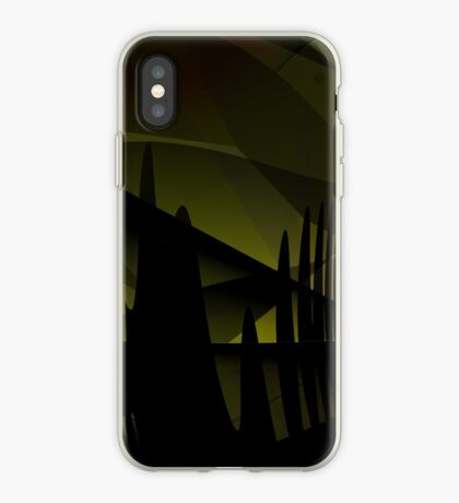 Abstract Landscape Art iPhone Case