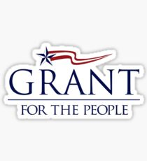 Grant for the people Sticker