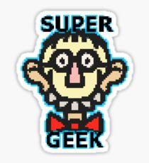 Super Geek Sticker
