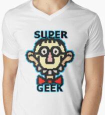 Super Geek Men's V-Neck T-Shirt