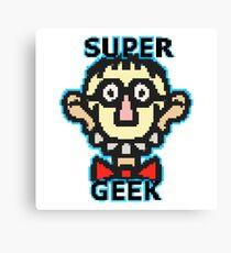 Super Geek Canvas Print