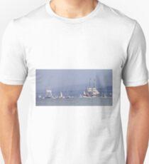 Tall Ships Leaving Hobart T-Shirt