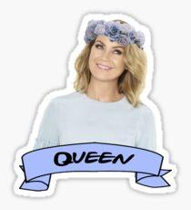 Queen Pompeo Sticker