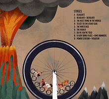 Tour of Sufferlandria 2016 - Official Artwork by GvA The Sufferfest